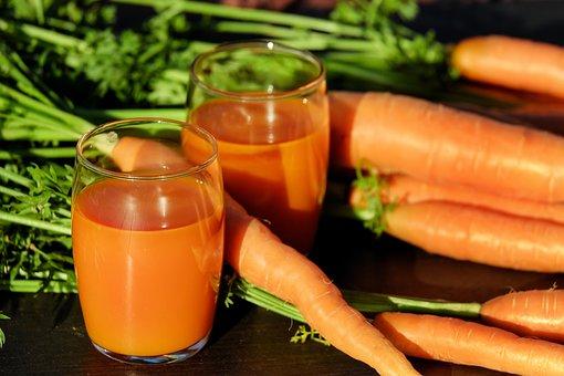 Jus Wortel Sayuran